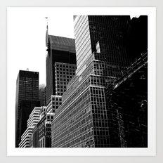 NY Cityscape Art Print