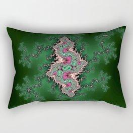Fractal Serpent Rectangular Pillow