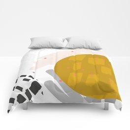 Waxing Moon Comforters