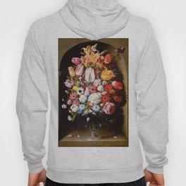 """Osias Beert """"Bouquet in a Niche"""" Hoody"""