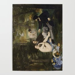 Edouard Manet, Luncheon on the Grass, 1863 Poster