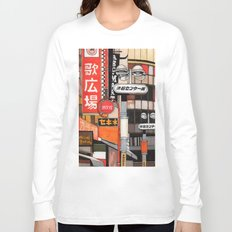 Tokyo Street Signs Long Sleeve T-shirt