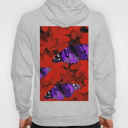 Butterflies are Free to Fly Red Hoody