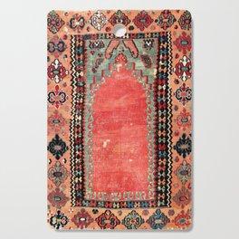 Sivas  Antique Cappadocian Turkish Niche Kilim Print Cutting Board