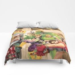 Captain A: Civil Wok Comforters