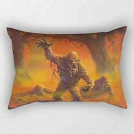You Can't Scare Me Rectangular Pillow