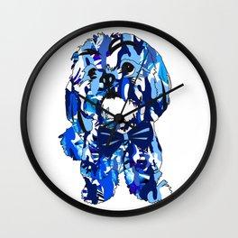 Prescot in Camo Wall Clock
