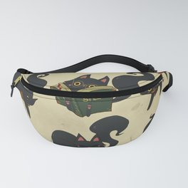 Witch's Cat Fanny Pack
