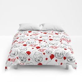 Pennywise The Cute Clown Comforters