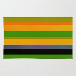 Tropical stripes Rug
