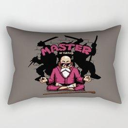 Master of Turtles Rectangular Pillow