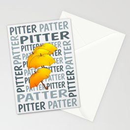 Umbrella  Pitter Patter Stationery Cards