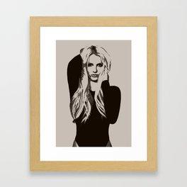 Britney Spears Framed Art Print