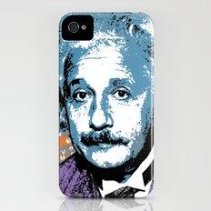 Blue Einstein Slim Case iPhone (4, 4s)