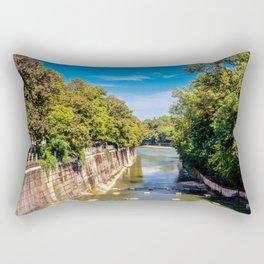 DE - Bavaria : Isar canal Rectangular Pillow