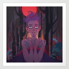 The Memory part IV: Darkfall Art Print