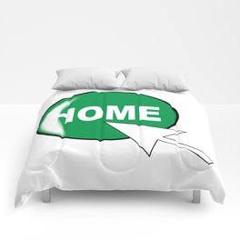 Computer Icon Home Comforters