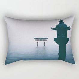 Itsukushima Shrine Rectangular Pillow