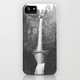 MULTNOMAH FALLS / Oregon iPhone Case