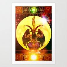 Speak of the Devil - 244 Art Print