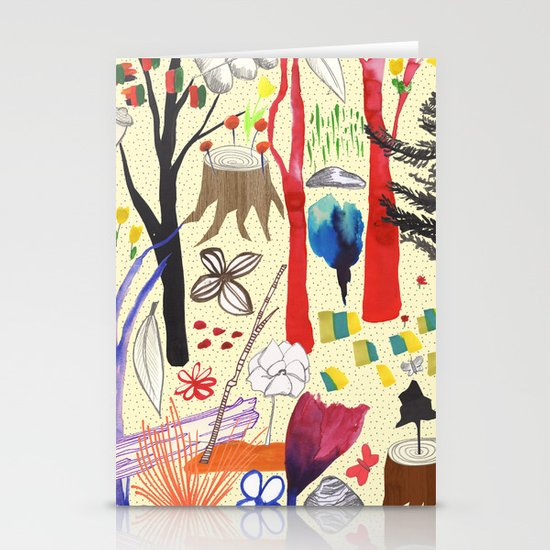 Magical Wood Stationery Cards