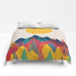 UPHILL BATTLE Comforters