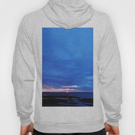 Cloudy Day Sunset on the Sea Hoody