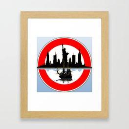 Amazing Day Framed Art Print