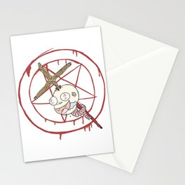 Evil Baby Stationery Cards