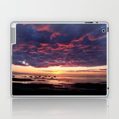 Heavy Cloud over a Gentle Sunset Laptop & iPad Skin