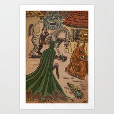 Ob-scene Art Print