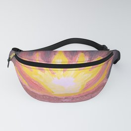 Fire in the forest. Fanny Pack