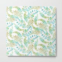 Fern pattern Metal Print
