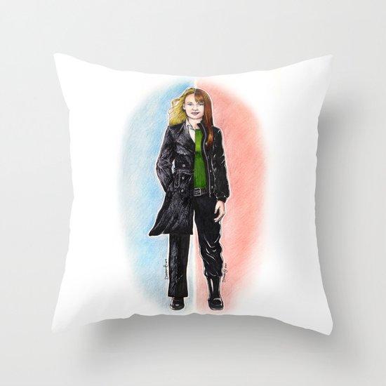 2 OLIVIAS DUNHAM (FRINGE) Throw Pillow