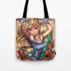 Once Upon A Dream (blue dress) Tote Bag