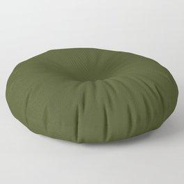 CHIVE dark green solid color Floor Pillow