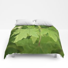 Amber Orientalis Leaves Comforters