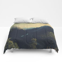 mountains VII Comforters