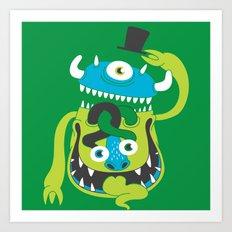 Mister Greene Art Print