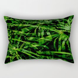 Give Us Some Green Rectangular Pillow