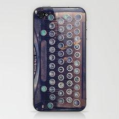 qwerty iPhone & iPod Skin