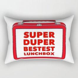 Super Duper Bestest Lunchbox Rectangular Pillow