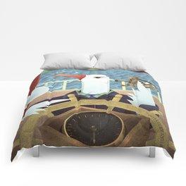 A-Z Animal, Albatross Quartermaster - Illustration Comforters