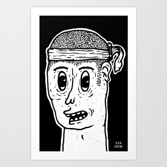 Mister B Art Print