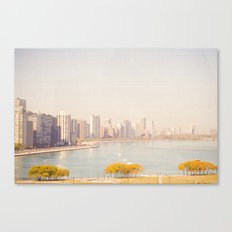 Summer In The City Chicago Canvas Print