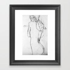 Cold Water Framed Art Print