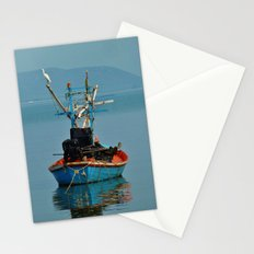 Bird on Boat Stationery Cards