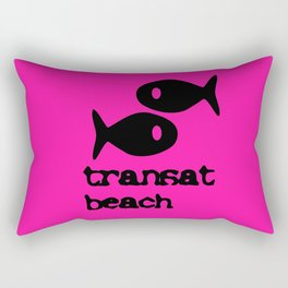 Transat beach Rectangular Pillow
