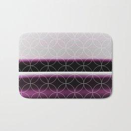 Elegant Rich Purple Design Pattern Badematte