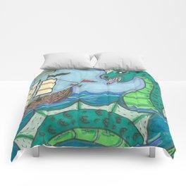 Sea Serpent Comforters